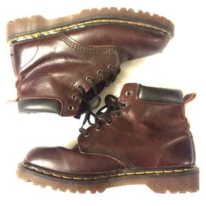 Doc Martens | Burgundy Leather Boots sz 7